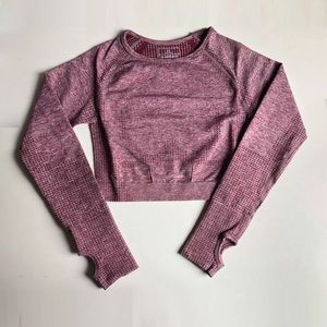 Vital Seamless Long Sleeve Crop Top